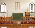 inside of St Helena's church Larnaka
